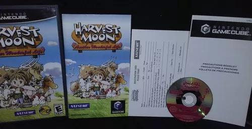 Harvest moon: another wonderful life - original - game cube