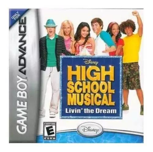High school musical livin' the dream - gba - original - novo
