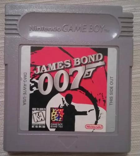 James bond 007 game boy color e advance gbc gba original