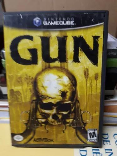 Jogo gun para nintendo game cube - original importado novo