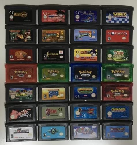 Jogos game boy advance gba pok