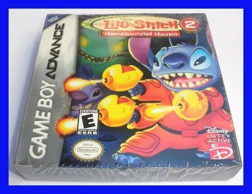 Lilo stitch 2 game boy advance gba lacrado mario amassado