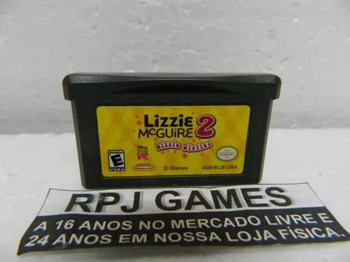 Lizzie mc guire 2 original salvando p/ gba game boy advance