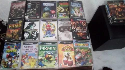 Lote 15 jogos de gamecube nintendo resident evil c/ manual