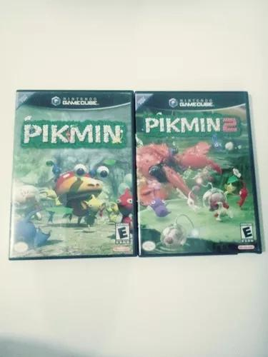 Lote 2 jogos pikmin (gamecube)