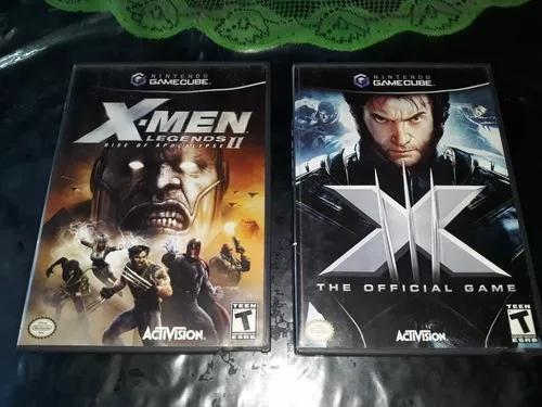 Lote x men 3 + xmen legends 2 game cube