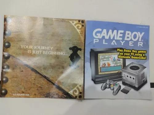 Manual game boy advance (nintendo)