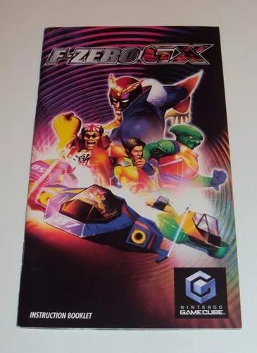 Manual original americano f-zero gx - game cube