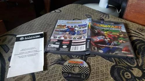 Mario kart double dash para o game cube funcionando leia