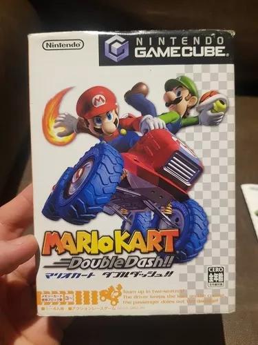 Mario kart nintendo gamecube japones original completo zero!