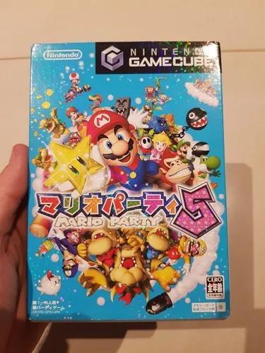 Mario party 5 nintendo gamecube original japones excelente