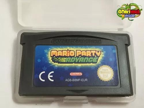 Mario party advance game boy advance gba nintendo ds nds