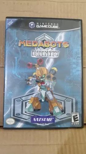 Medabots infinity nintendo gamecube com defeito