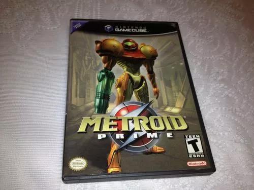 Metroid prime (nintendo game cube, 2004) completo