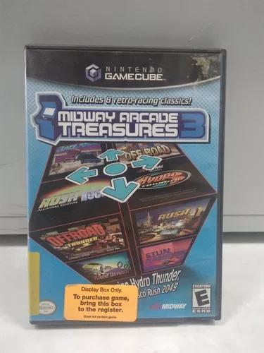 Midway arcade treasures 3 - nintendo gamecube - com caixa