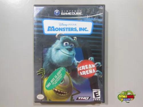 Monsters inc monstros sa original game cube