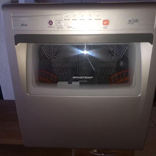Máquina lava louças brastemp ative 8 serviços