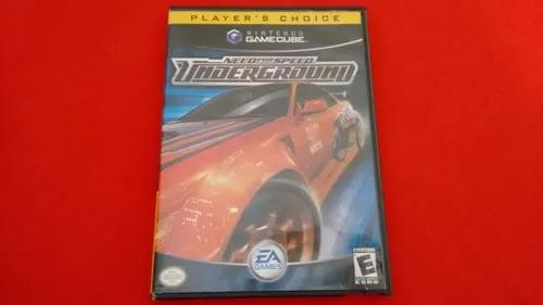 Need for speed underground game cube completo