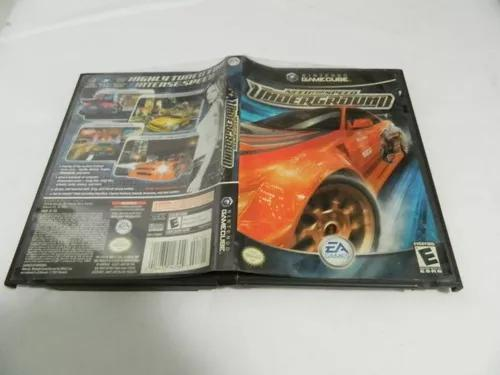 Need for speed underground - original game cube - completa