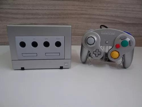 Nintendo game cube platinum novo (s