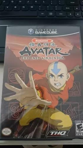 Nintendo wii gc avatar the last airbender gamecube completo
