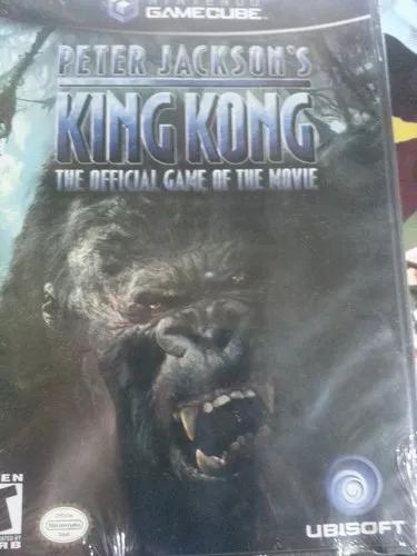 Peter jackson's king kong - game cube nintendo raro lacrado