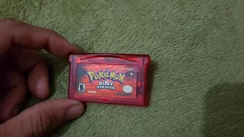 Pokémon ruby version para o game boy advance tudo 100% a1