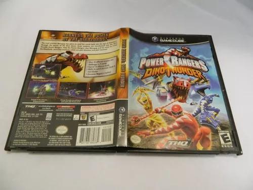 Power Rangers Dino Thunder Original P Game Cube Completa Em