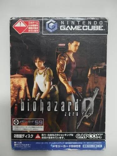 Resident evil 0 nintendo gamecube japones s