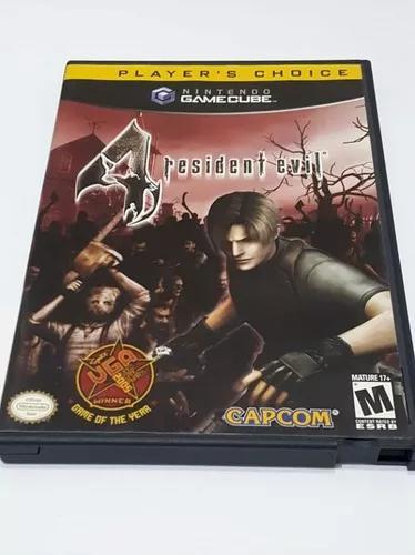 Resident evil 4 game cube - zerado! frete grátis módico
