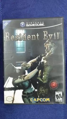 Resident evil game cube disco duplo