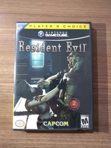 Resident evil original americano gamecube
