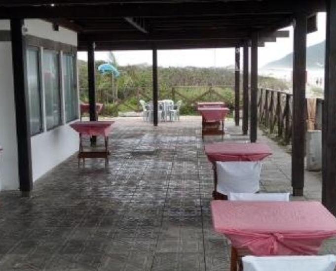 Restaurante a venda pé na areia no santinho florianópolis