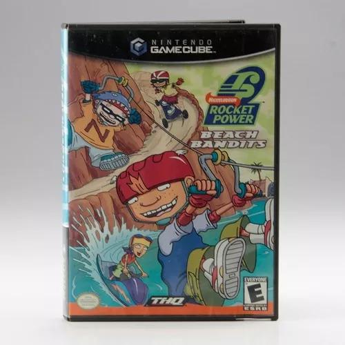Rocket power beach bandits / game cube - original