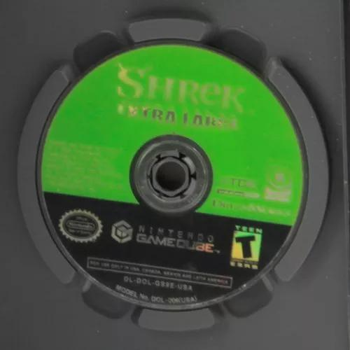 Shrek extra large / game cube - original