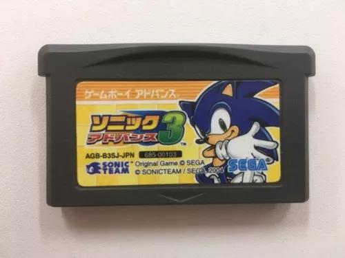 Sonic advance 3 original japones game boy advance madgames