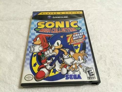 Sonic mega collection completo - com 7 jogos