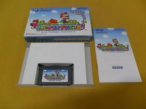 Super mario advance - game boy advance - gba - na caixa
