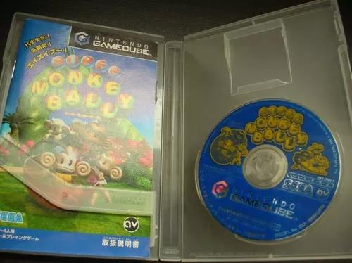 Super monkey ball nintendo gamecube original japones