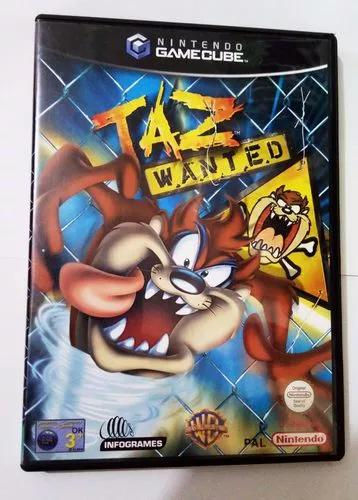 Taz wanted nintendo game cube jogo original