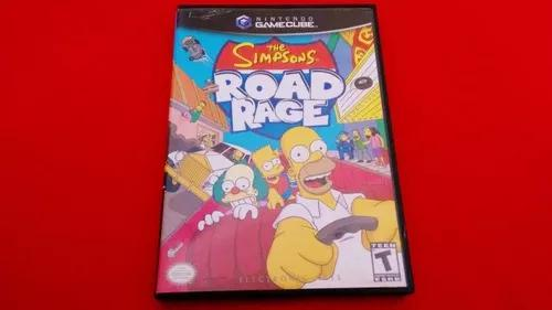 The simpsons road rage game cube original completo