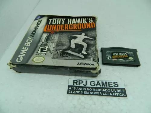 Tony hawks underground original c caixa gba game boy advance