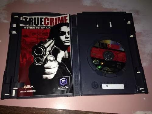 True Crime Game Cube Ler Tudo Midia Dando Erro R$24,99