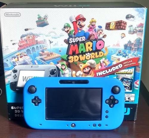 Wii u desbloqueado hd 500 gb com jogos gamecube e wii