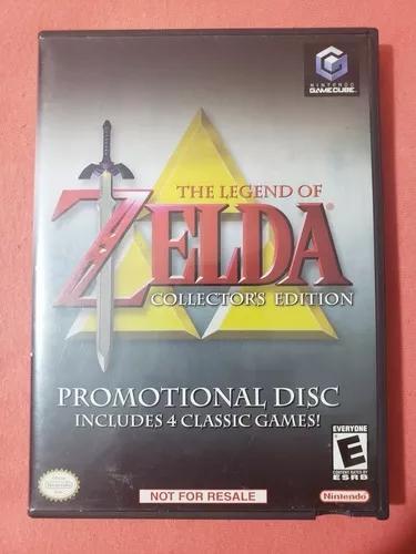 Zelda collectors edition nintendo game cube gamecube promo