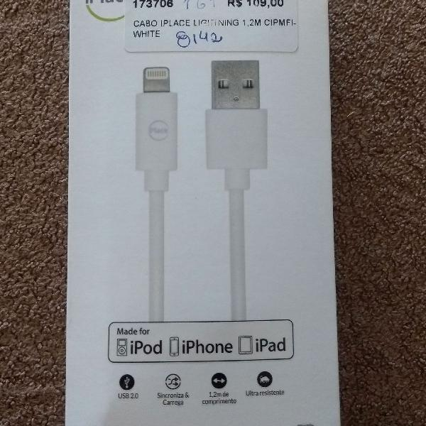 Cabo usb 2.0 iphone