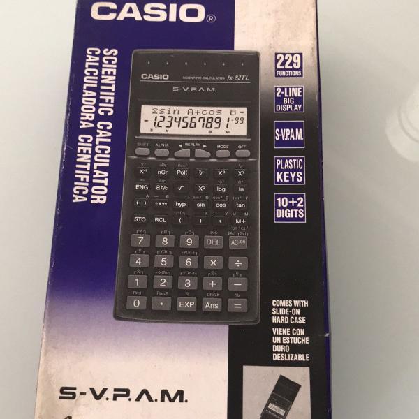 Calculadora científica casio fx-82tl