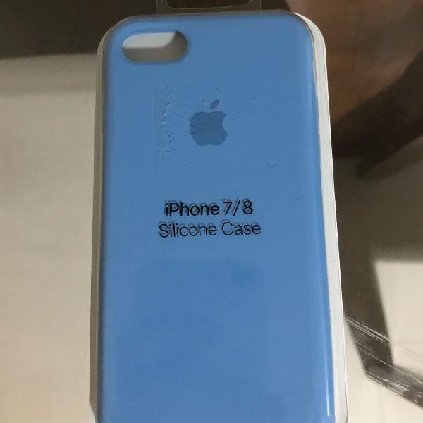 Capinha silicone apple iphone 8 e 7 . serve para ambos os