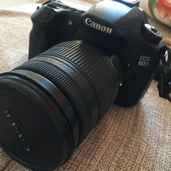 Câmera digital canon eos 60d