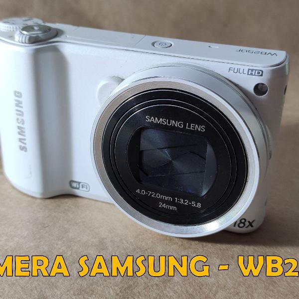 Câmera digital samsung wb250f